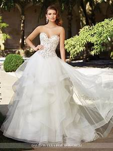 glamorous 2017 david tutera for mon cheri wedding dresses With david tutera wedding dresses 2017