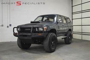 1990 Toyota 4runner Hilux Surf Turbo Diesel For Sale