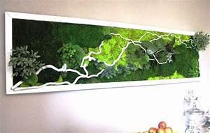 Tableau Végétal Mural : mur et cadres v g taux les p 39 tites fleuristes artisan ~ Premium-room.com Idées de Décoration