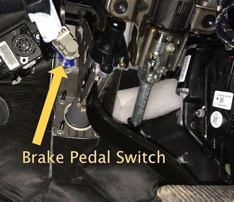 Cruise Control Brake Switch Circuit Malfunction