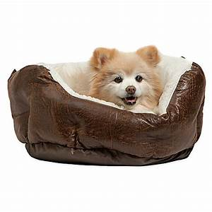 best friends by sheri faux leather round cuddler pet bed With best round dog beds