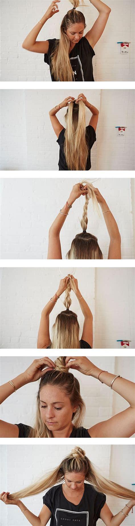 frisuren lange haare steckfrisuren   geflochtene