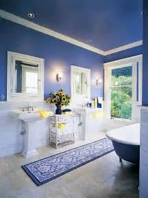 Blue Bathrooms Ideas Skarrlette 39 S Hammer Blue Is Better