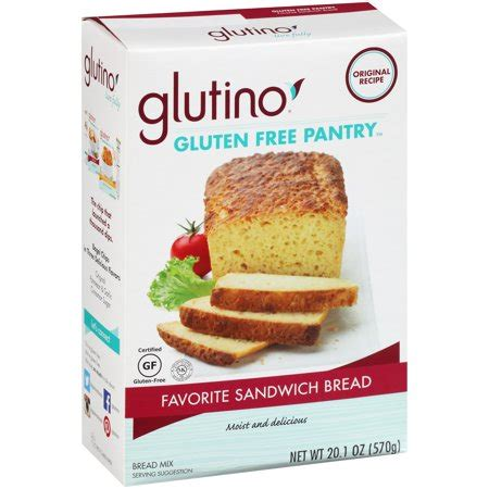 Bread Pantry Glutino Gluten Free Pantry Favorite Sandwich Bread Mix 20