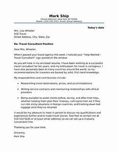 Cover Letters For Career Change Travel Consultant Cover Letter Sample