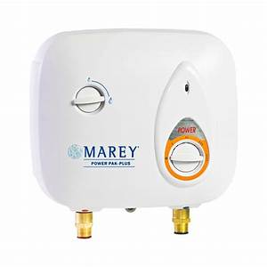 Marey 2 0 Gpm Electric Tankless Water Heater Power Pack - 220-volt-ppxe5