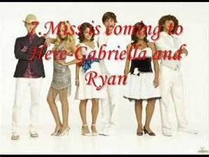 High School Musical 3 song list - YouTube