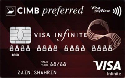 Convert your credit card purchase into a choice of smart installment payment plans at any of the stores below for free at 0% qasset program. CIMB Preferred Visa Infinite - Special FX Rates!
