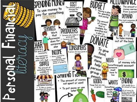 financial literacy worksheets for elementary students step into 2nd grade with mrs lemons personal financial literacy math teaching ideas