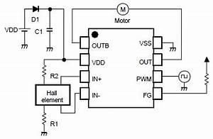 nju7365 single phase dc brushless motor driver circuit design With two phase motor driver circuit using sn754410 two phase motor driver