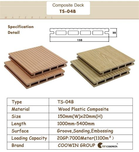Boat Decking Material by Wood Plastic Composite Boat Decking Material Wpc Flooring