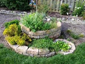 Como crear un jardin de hierbas aromaticas en espiral for Como crear un jardin de plantas aromaticas