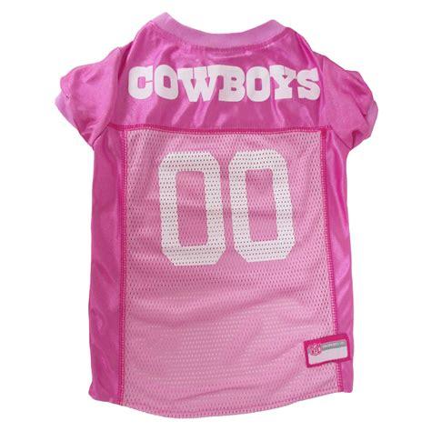 pets  dallas cowboys nfl pink mesh jersey petco