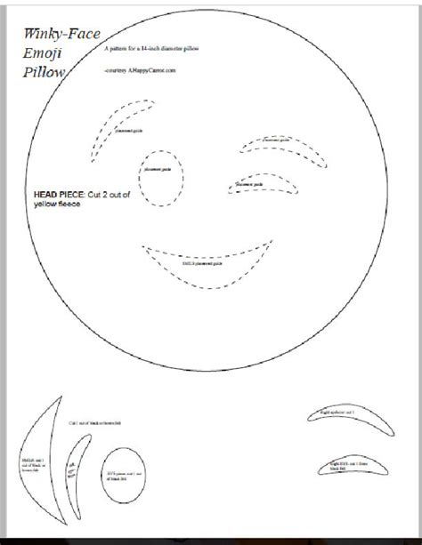 emoji template printable a happy carrot emoji pillow tutorial with free pattern sewing is optional