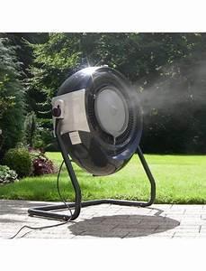 Ventilateur Brumisateur Sur Pied : ventilateur brumisateur cooled 2 5l cooled chauffages d 39 ext rieur jardin concept ~ Melissatoandfro.com Idées de Décoration