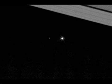 Earth Seen From Saturn Cassini Probe Looks Back