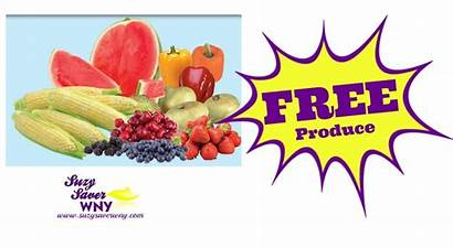 Produce Giveaway Offer Rebate Suzy