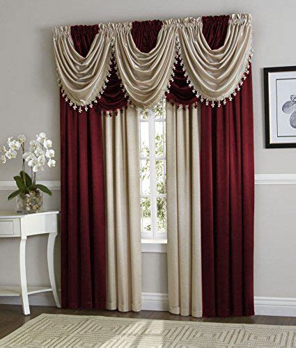 17 best ideas about burgundy curtains on