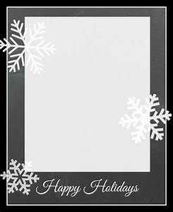 Free Christmas Card Templates - Crazy Little Projects