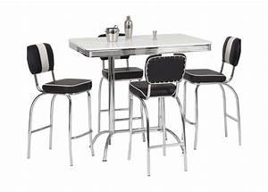 Table Bar Avec Tabouret : tabouret de table haute ~ Teatrodelosmanantiales.com Idées de Décoration