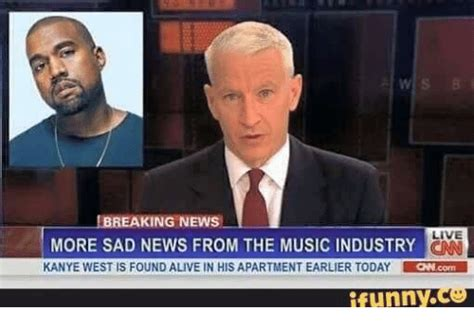 Breaking News Live More Sad News From The Musicindustry