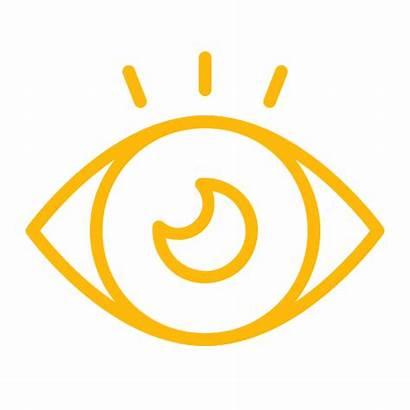 Icon Eye Vision Idea Icons Data