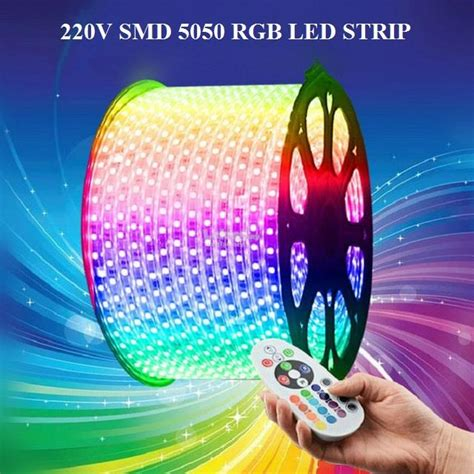 new 220v 50m smd 5050 waterproof le end 11 26 2017 4 15 pm
