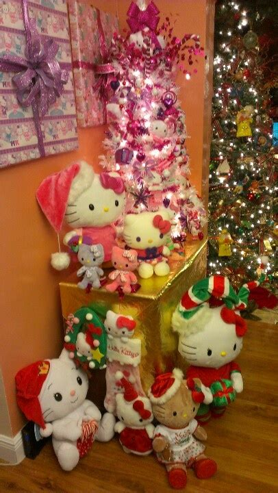 hello kitty christmas tree and decor christmas trees