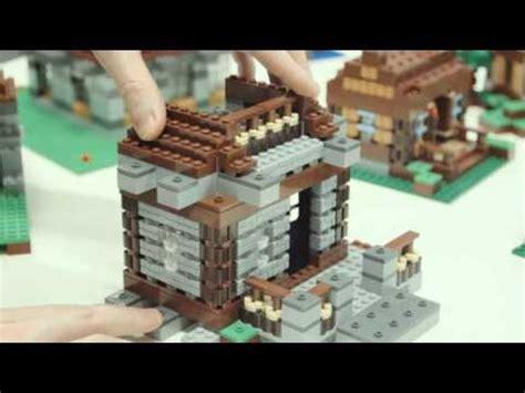 lego minecraft  build steves shelter youtube