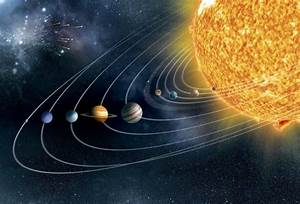 Solar System, artwork - Solar System. Artwork of Earths ...