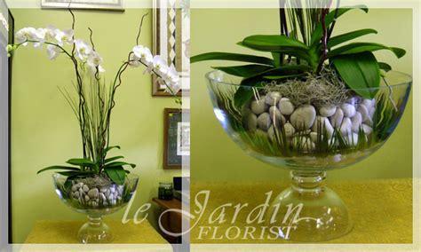 upscale flower arrangements le jardin florist