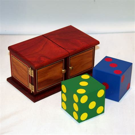 Rainbow Die Box By Mel Babcock  Martin's Magic Collection