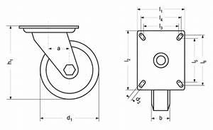 Lenkrollen Mit Bremse : rotaflex gmbh ha 5211 schwerlast lenkrollen mit bremse polyamid gleit oder kugellager ~ Eleganceandgraceweddings.com Haus und Dekorationen