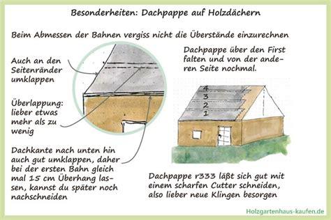 Dachpappe Verlegen So Wird Das Flachdach Wasserdicht by Dachpappe Kaufen Und Verlegen Ratgeber Mit Vielen Skizzen