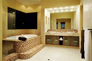 Bathroom interior design new model home models for Model house interior design pictures
