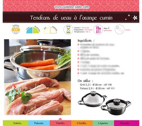 cuisinez de a à z fiche recette viande tendrons de veau à l 39 orange cumin