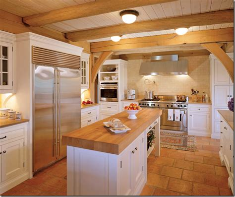 kitchen floors and countertops kitchens tile floors wood counter and tile flooring 4869