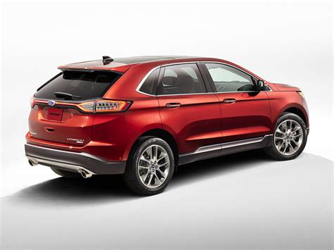 ford edge crossover 2016 ford edge price photos reviews features
