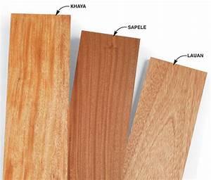 Mahogany and Its Look-Alikes - Popular Woodworking Magazine