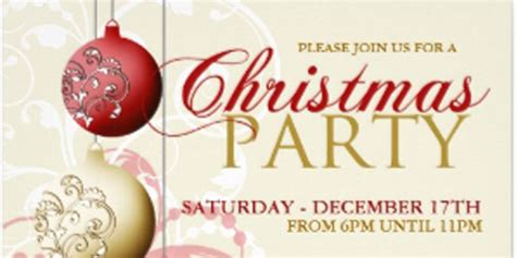 fancy  elegant holiday party invitations