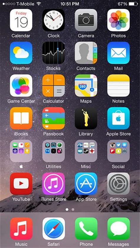 iphone home show us your iphone 6 homescreen iphone ipod