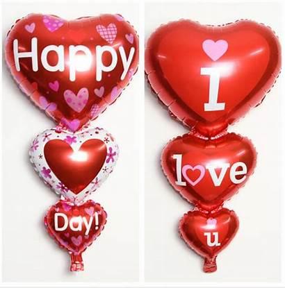 Balloon Valentine Decor Balloons Heart Party Birthday