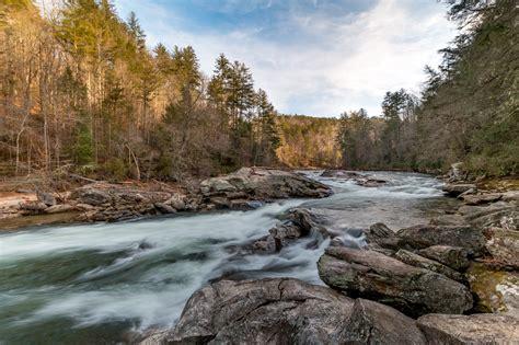 Long Creek Falls Along the Chattooga – Waterfalls Hiker
