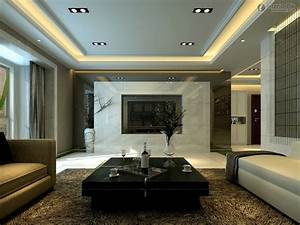 luxury-modern-living-tv-room-design-white-marble-paneling ...