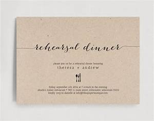 rehearsal dinner invitation wedding rehearsal editable With when to send wedding rehearsal invitations