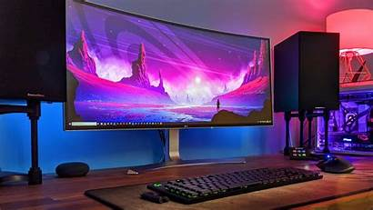 Gaming Setup 4k Pc Wallpapers Desktop Ultrawide
