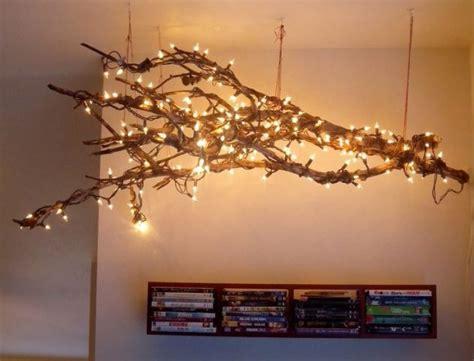 fascinating diy tree branch chandeliers