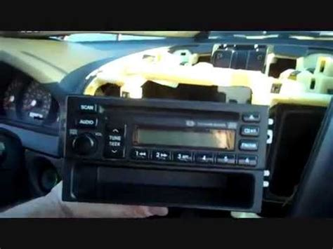 How Kia Sorento Car Stereo Removal Repalace