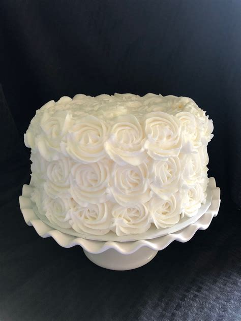 rosette cake decorating class  sunday april