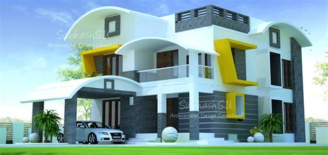 square feet double floor contemporary home designs